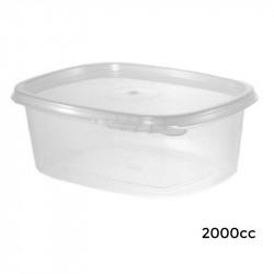 6V02000/T Envase Bisagra Ov. Seg.PP -2000-160
