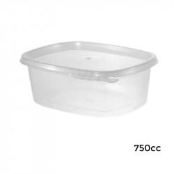 6V0750/T Envase Bisagra Ov. Seg.-PP-750 cc - 276