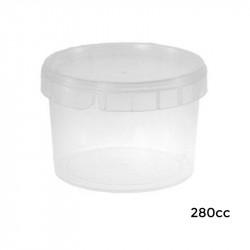 Envase Circular SEG. TTE.+Tapa ø:87/PP/280cc /660