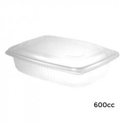 Envase Bisagra 600 cc. PP 50/300