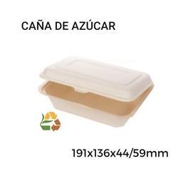 Envase para snack BIO - 191x136x44/59mm