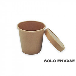 Envase Sopa Cartón KRAFT ECO 470ml. 50/500