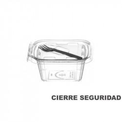 Envase bisgra PET 500 cc con tenedor